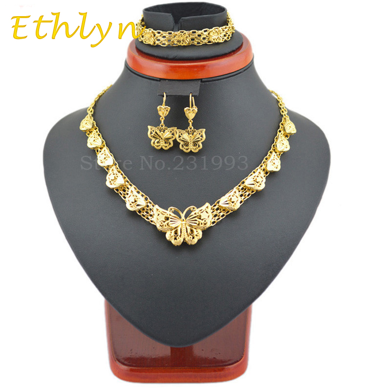 Ethlyn Top Brand For Ethiopian Fashion Women Jewelry Sets