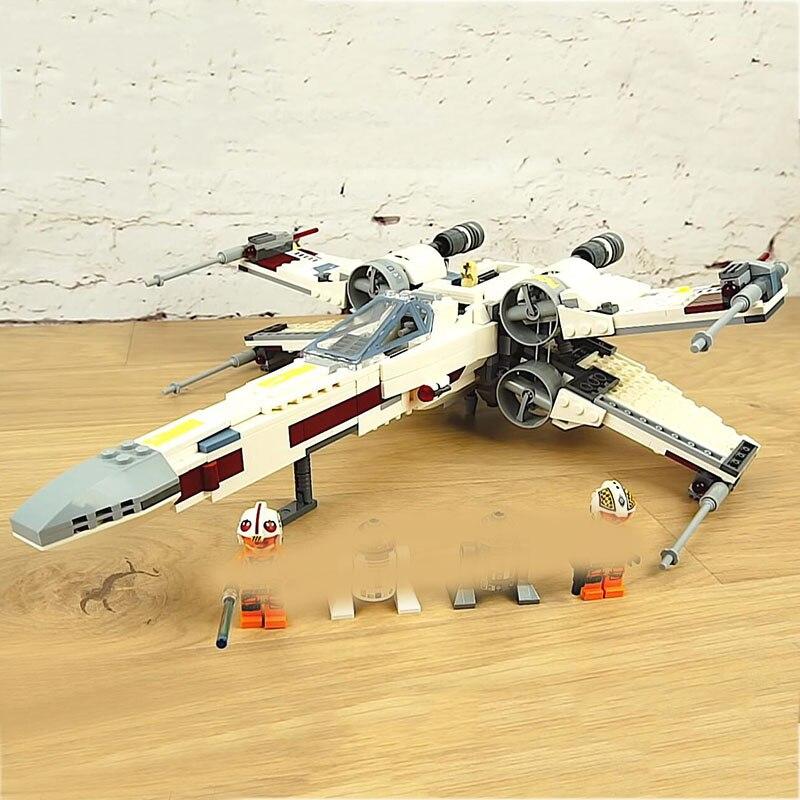 Starwars 05145 Star Plan Wars combattant la X nouvelle aile Starfighter Set blocs de construction 75218 briques Legoinglys enfants jouets