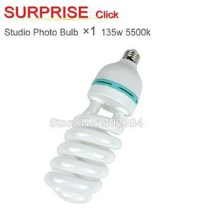 Image 1 - Photo Studio 135W Bulb 220V 5500K Energy Saving Lamp holder White Lighting E27 Holder for Photography