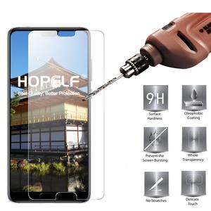 HOPELF Tempered Glass for Huawei P20 Pro Screen Protector 9H 2.5D Phone Protective Glass for Huawei P20 Pro Tempered Glass