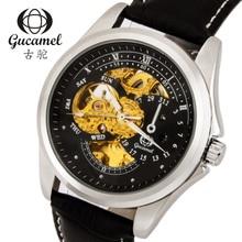 2016 Nueva Jaragar Multifunción Caliente Gucamel Reloj Marca De Lujo Para Hombre Reloj Mecánico Automático Reloj Hombre