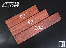 GH60 podłokietnik z litego drewna 60% klawiatura mechaniczna Poker2 87 klawiatura mini podstawa drewniana podpórka dla dłoni klawiatura na nadgarstek