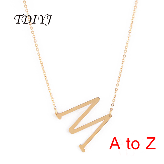 coin pendant thoughts gold diamond white pave necklace initial roberto letter necklaces