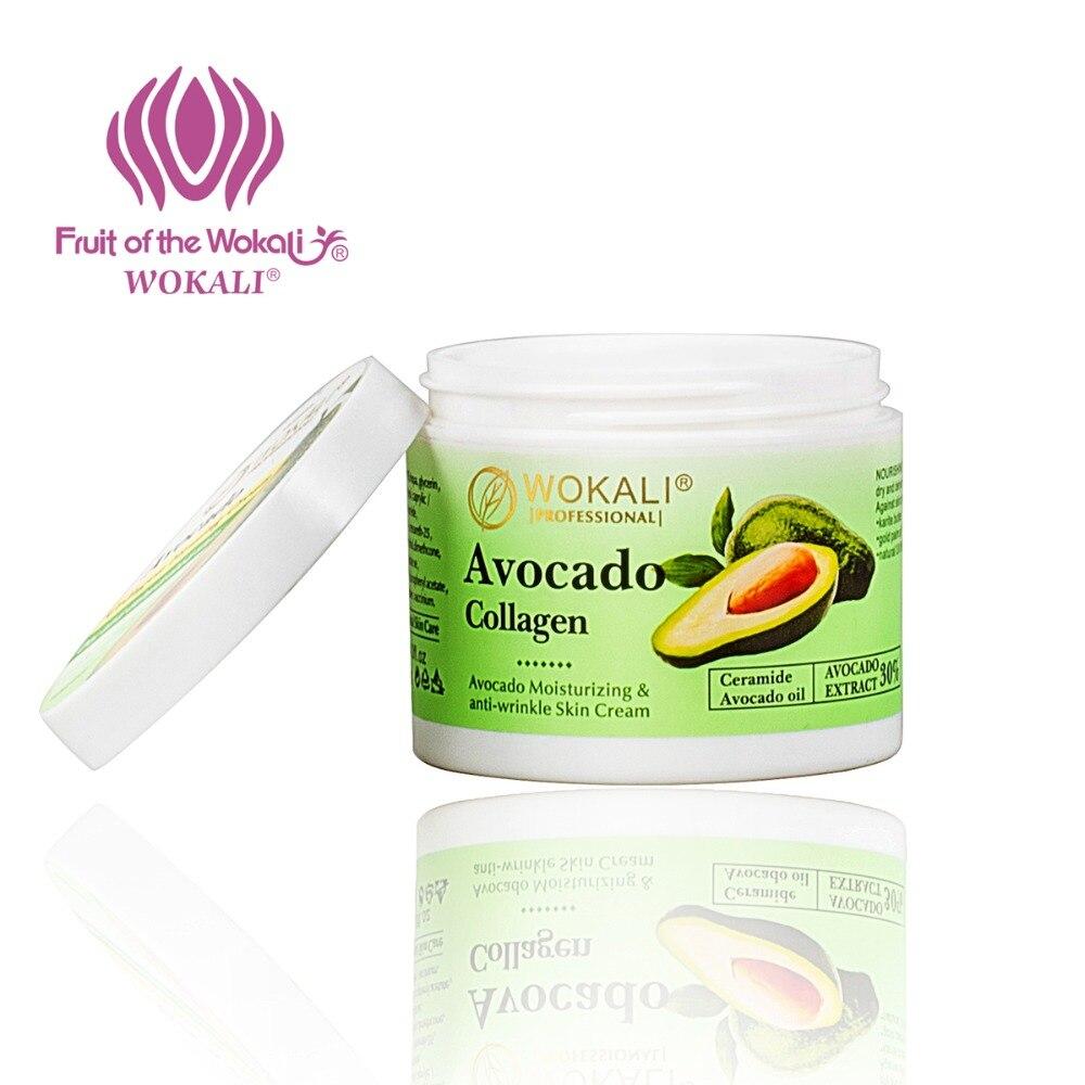 WOKALI 100g Avocado Extract Moisturizing Face Cream Nourishing Skin Care Anti-Aging Wrinkle Beauty Repair The Skin