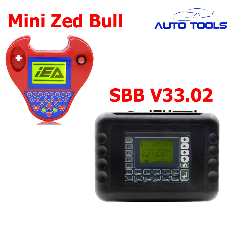 Auto car key programmer SBB V33.02 and Smart mini zed bull Auto KeyTransponder zed-bull via DHL FREE carcode 2016 top rated professional r270 for bmw cas4 bdm programmer auto key programmer r270 cas4 free shipping