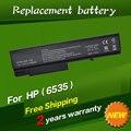 Jigu 10.8 v batería del ordenador portátil para hp probook 6550b probook 6555b hp compaq business notebook 6530b 6535b 6730b 6735b 6 células