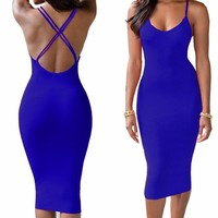 OL fashion long-sleeved network yarn high-elastic tight-fitting hollow package hip nightclub shorts 2017 hot models of hot dress
