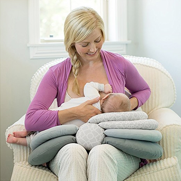 Multifunction Nursing Breastfeeding Layered Washable Cover Baby Pillows Adjustable Infant Feeding Pillow Cushion Baby Care baby pillows multifunction nursing breastfeeding layered washable feeding pillow adjustable cushion infant breastfeeding pillow