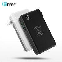 FDGAO PD QC 3.0 10000mAh Qi Wireless Charger Power Bank For iPhone XS XR X 8 Samsung S10 Xiaomi Huawei Fast USB External Battery