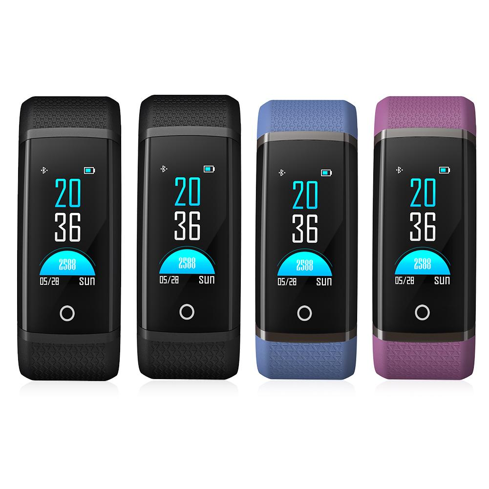 Hot Sale Color Screen Smart Band Heart Rate Blood Oxygen Monitoring Bluetooth Step Counter Sports Bracelet Dropship 7.30