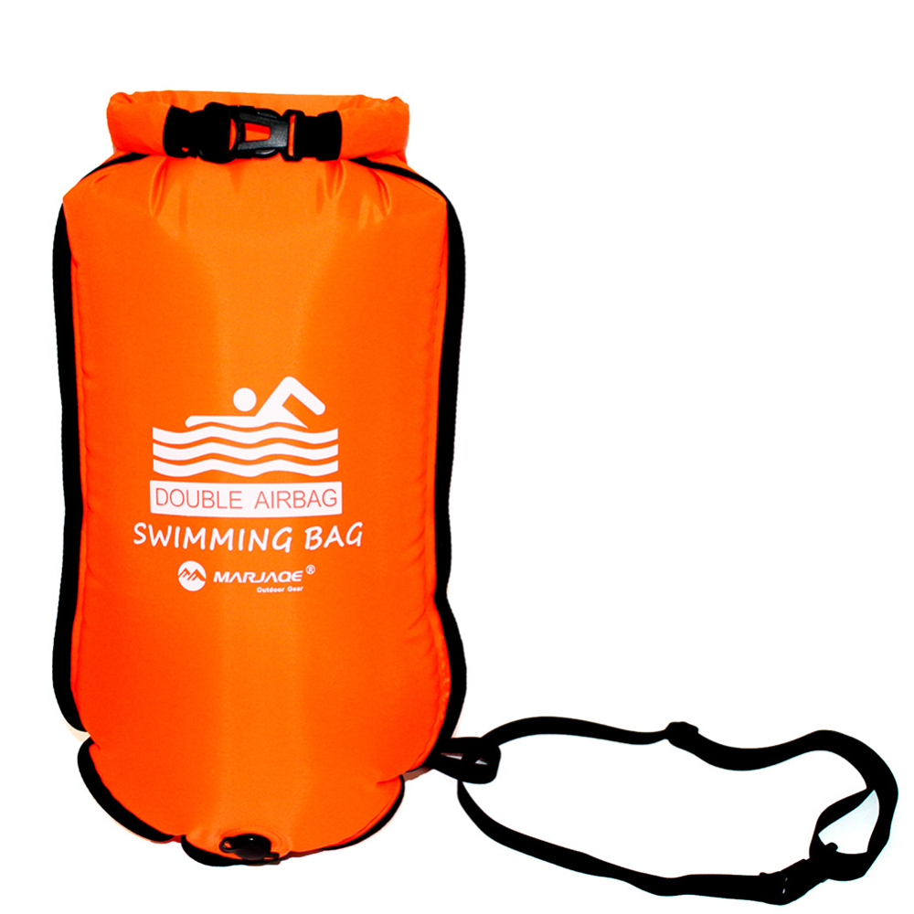 Waterproof Flotation Bags Nylon PVC Wear Resistant Storage Bag Swimming Pool Prevent Drowning Life Buoy Inflatable Swimming Bag