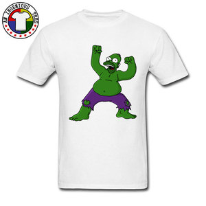 Bare Bart Hulk 100% tkanina bawełniana Funny T Shirt mężczyźni Casual Style lato/jesień nadruk kreskówkowy Tshirt nowe nadchodzące koszulki na sprzedaż