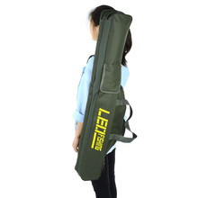 LEO 100/150cm Portable Fishing Bags Folding Fishing Rod Carrier Canvas Fishing Pole Tools Storage Bag Case Fishing Gear Tackle