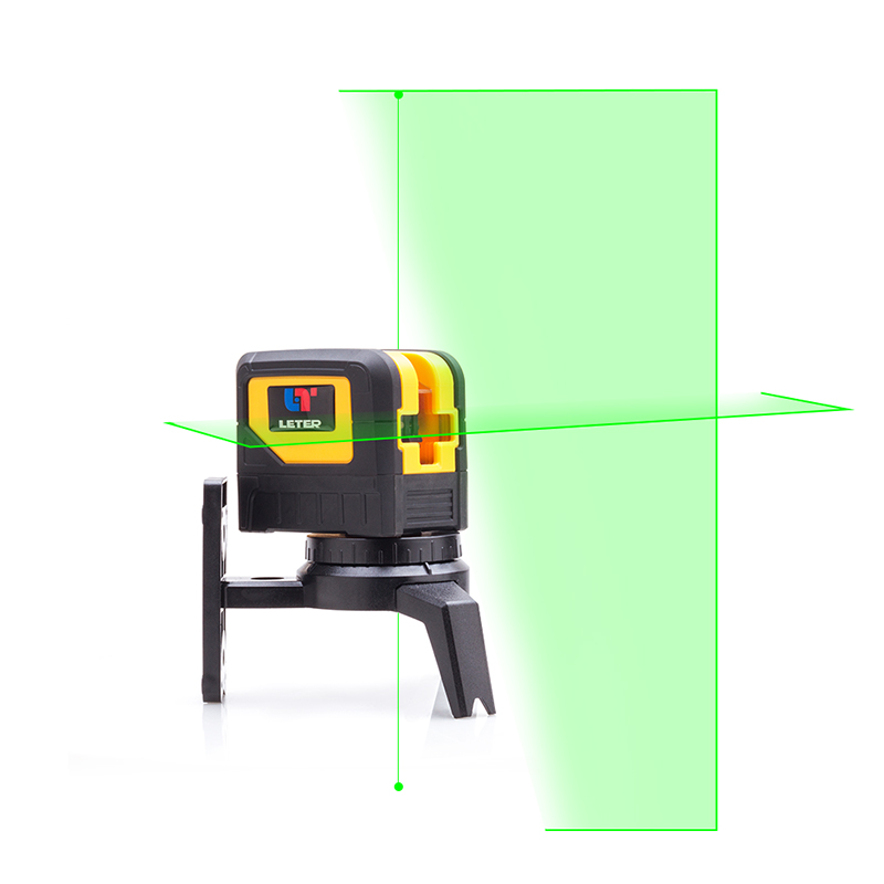 Leter two-line two-point light laser level point instrument vertical point instrument exclamation point свитер