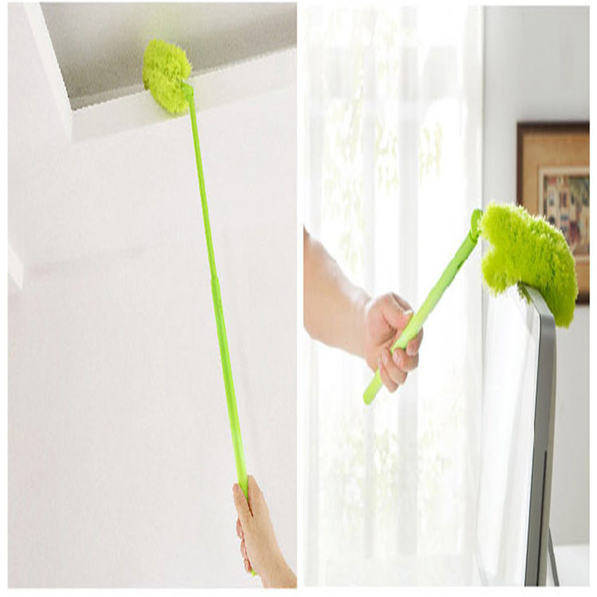 lovely pet Microfibre Duster Telescopic Handle Extendable Magic Cleaning Feather Brush Home Cleaning Tool Drop Shipping 70707