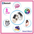Gold Smart Wrist Watch D8 Stainless Sports Bluetooth Whatch Band With Sleep Monitor Pedometer Reminder Anti-Lost For Phone
