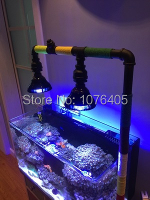2 개/몫 e27 led 성장 빛 led 수족관 램프 수경 법 해양 물고기 식물에 대 한 par38 전구 cps lps 산호초-에서조명부터 홈 & 가든 의  그룹 1