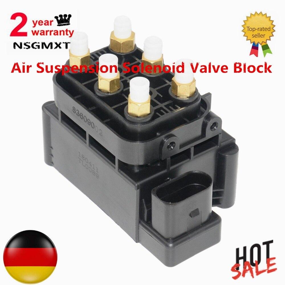 AP02 Air Suspension Solenoid Valve Block For Mercedes Benz W164 W166 W221 W251 W212 W216 W222 W205 280 300 320 350 420 450 500