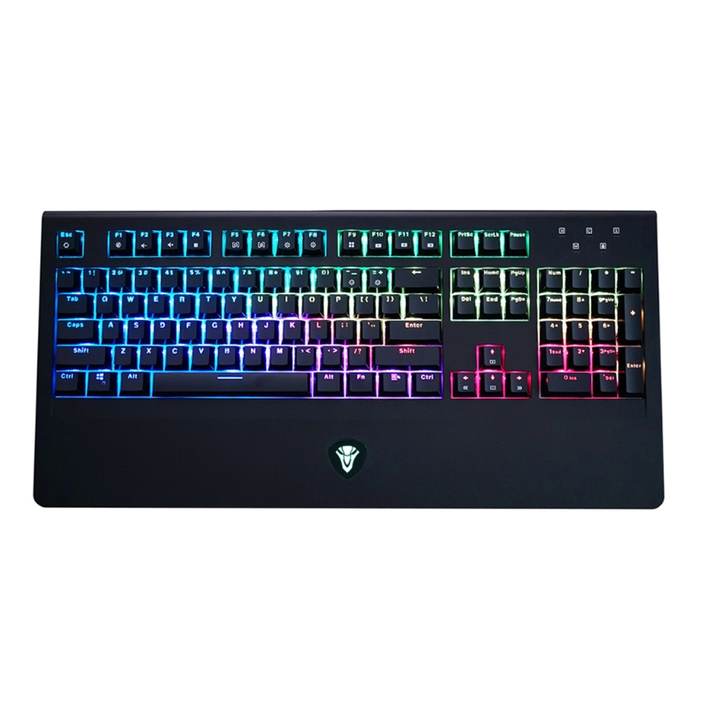 K11 104 Key Mechanical Keyboard USB Wired LED Backlit Axis Gaming Mechanical Keyboard For Desktop