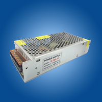 10pcs Lot DC 12V 10A 120W 16A 200WWFull Aluminum Metal Material LED Switching Power Supply Transformer