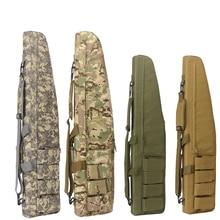Avcılık çanta 70 cm/100 cm/120 cm Taktik Su Geçirmez Tüfek saklama kutusu Sırt Çantası Askeri Silah Çantası airsoft Çantası avcılık Aksesuarları