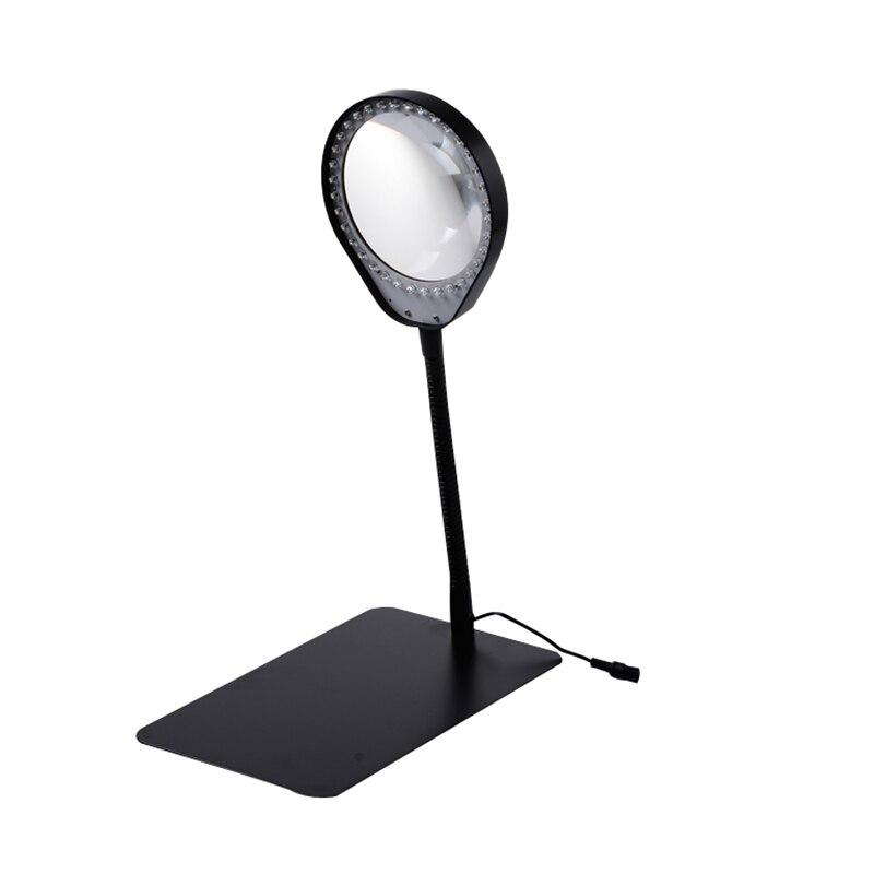 10X36 LED Licht Lupe & Schreibtischlampe Hilft Desktop ...