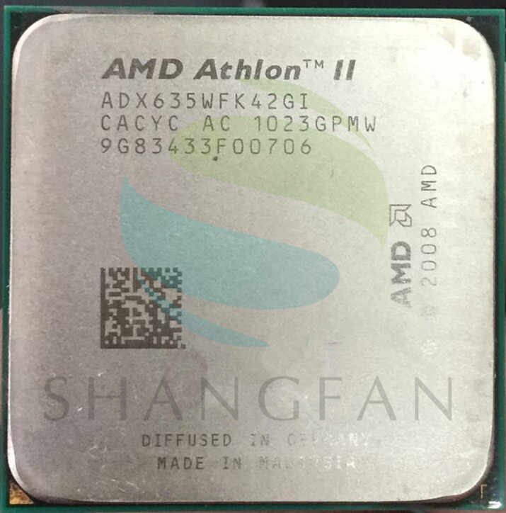 AMD CPU Athlon X4 635 3GHz Quad-Core Prosesor CPU ADX635WFK42GI 95W Socket AM3 938pin