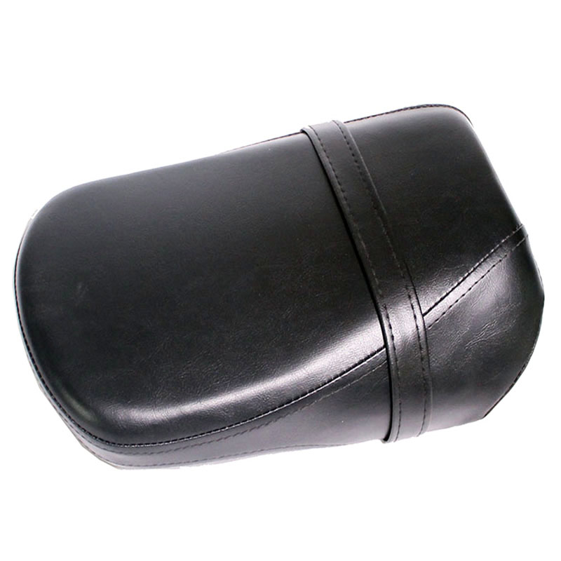 Passenger Seat Motorcycle Rear Seat Pad Synthetic Leather Black For Kawasaki Vulcan 650 VN650 VN 650 Passenger Seat Motorcycle Rear Seat Pad Synthetic Leather Black For Kawasaki Vulcan 650 VN650 VN 650