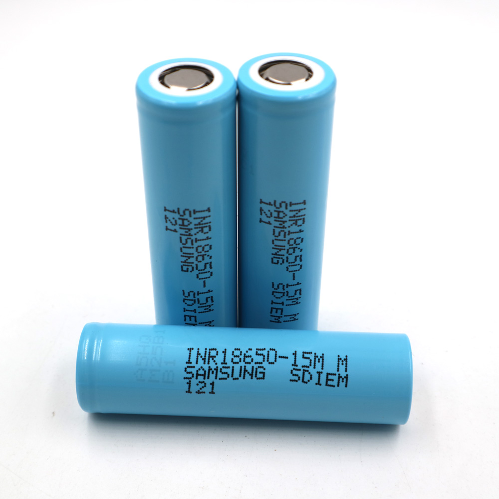 Li-ion 1500mAh 15M 3pcs battery 18650 rechargeable battery,power tool battery,discharge rate 20C,high magnification battery