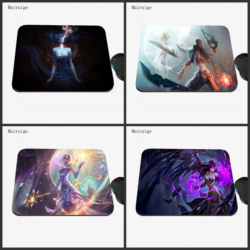 Mairuige Wholesale Price League of Legends Pad PC LOL Gaming Rubber Mousepads Decorate Your Desk Anti-slip Rubber Mousepads ...