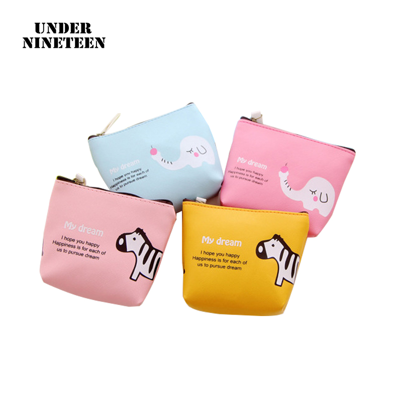 Cartoon Zero Wallet Pu Waterproof Key Pack Creative Coin Pack Holiday Promotional Gifts Coin Purses Luggage & Bags