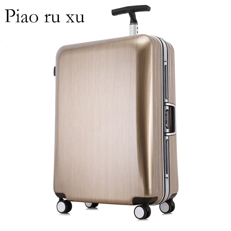 Aluminum frame+PC Rolling Luggage Travel Suitcase Bag 20/22/24/26/29 inch Men Trolley Case,Women Multiwheel Carry-On