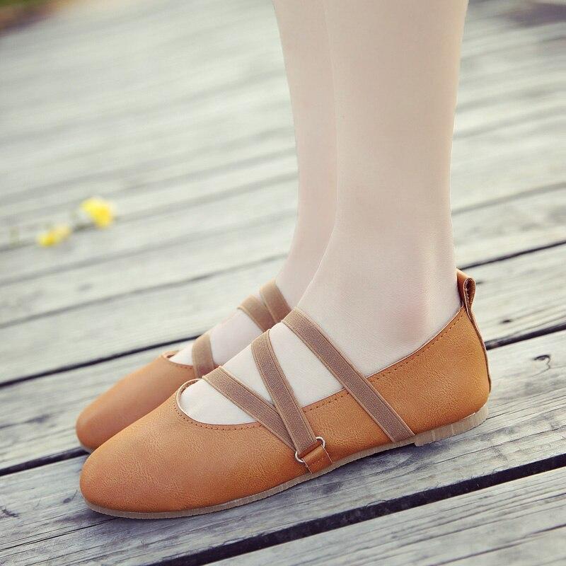 Fille Beige noir Profonde Ballet Plat Chaussures Pois Nouveau Mori 2018 Peu or Bouche Femme Printemps Sangle wOqqHYR