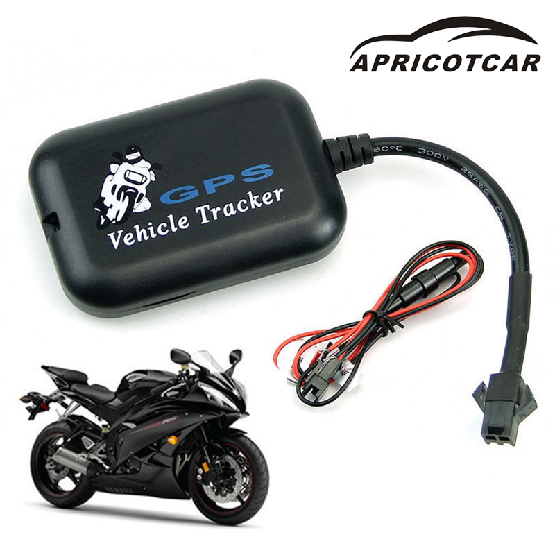 APRICOTCAR Car GPS Tracker Motorcycle GPRS GSM Tracker Mini Locator 4-Band Truck Real-Time Network Monitoring Tracking System