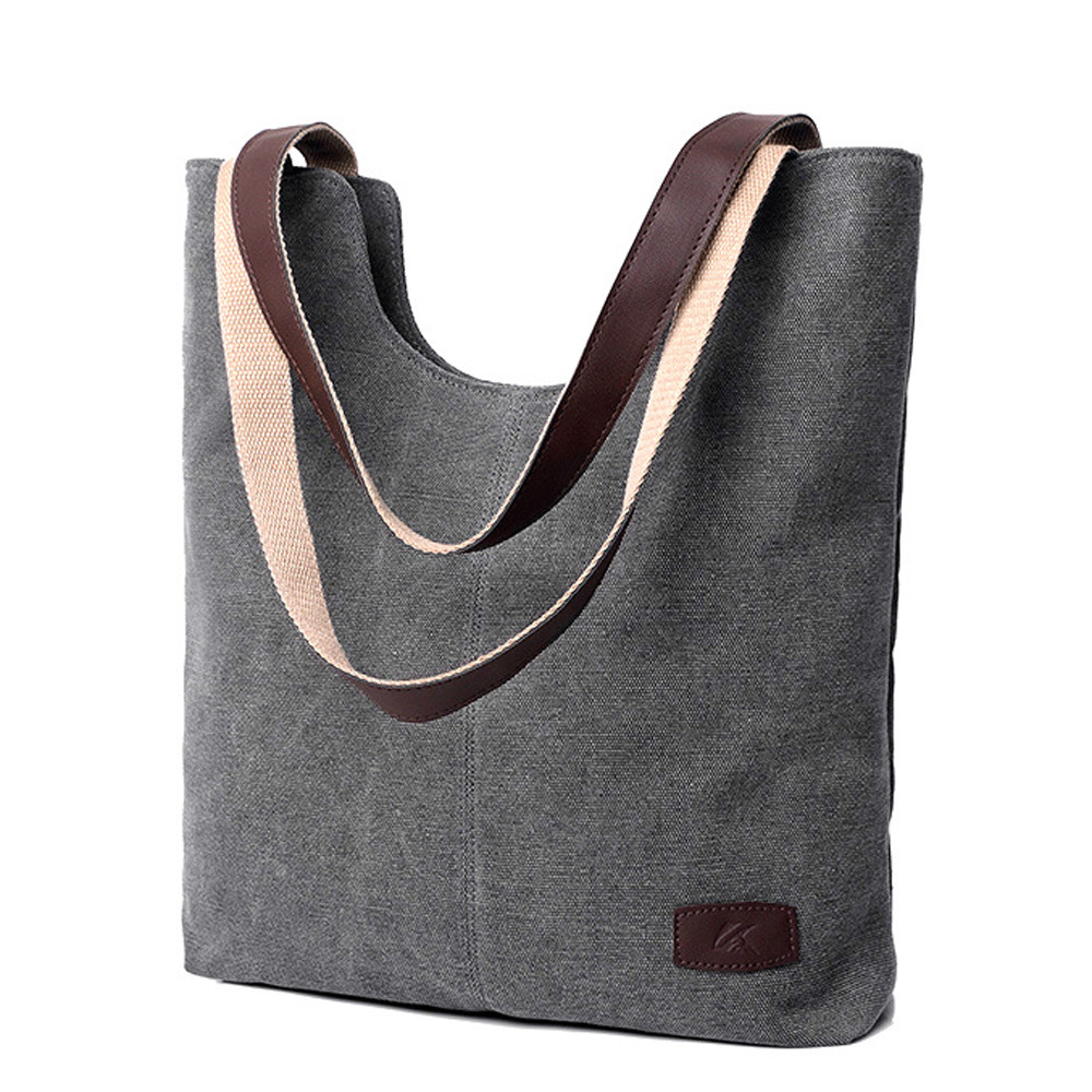 Shoulder Handbag Purses Canvas Large-Capacity Soft High-Quality Women's Ladies -Zer title=