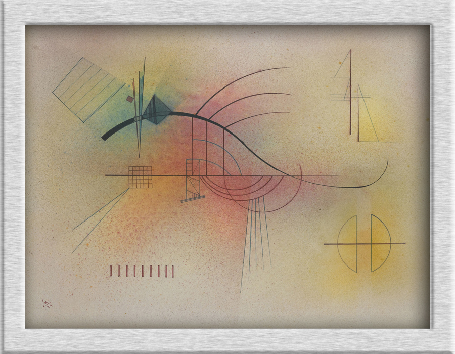 Wassily Kandinsky Abstract Art Oil painting HD Canvas Printing Giclee home decoration murals holiday gift no frame