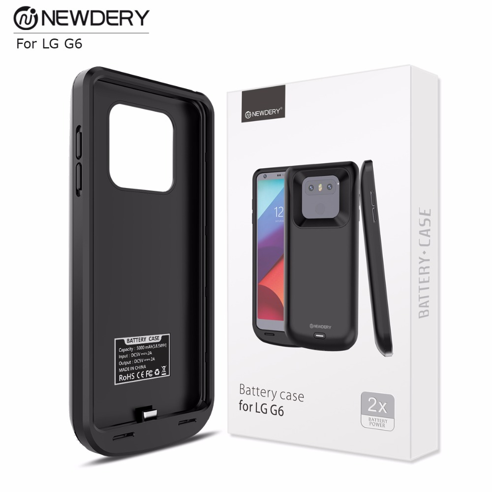 size 40 4bdc5 5b670 US $34.99  2018 Newdery exclusive sale 5000mAh ultra thin battery charger  case phone cover power case for LG G6-in Battery Charger Cases from ...