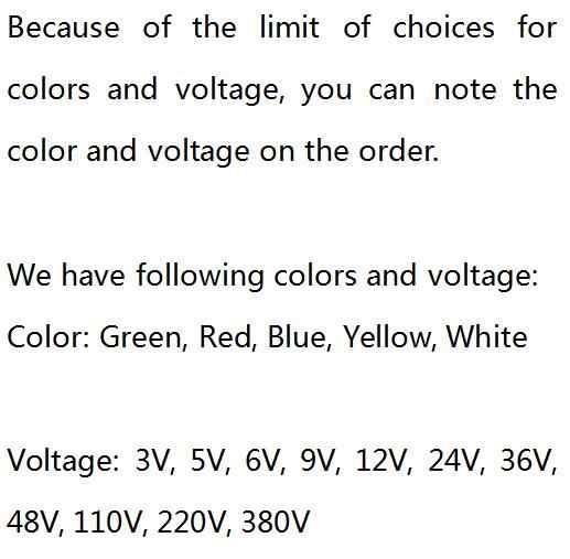 6mm LED Metall Anzeige Licht Wasserdichte IP67 Signal Lampe 3 v 5 v 6 v 9 v 12 v 24 v 110 v 220 v Rot Gelb Blau Grün Weiß Pilot Dichtung