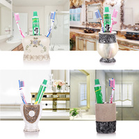 Ou Yan shukoubei toothbrush holder lovers'suits family of three toothbrush holder household toothpaste tooth mug
