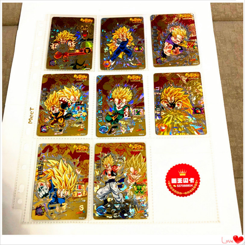 Japan Original Dragon Ball Hero Card HJ7 Goku Toys Hobbies Collectibles Game Collection Anime Cards