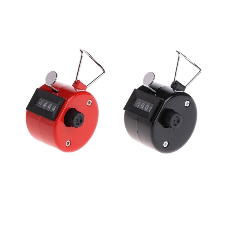 Hand Telapparaat 4 Digitale Display Mechanische Handmatige Count Klik Met Vinger Ring-m17 100% Origineel