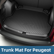 Cargo Liner Rear Tray Trunk Floor Mat Waterproof Protector For Peugeot 408 2008 308 3008 4008 508 5008 2017 2018