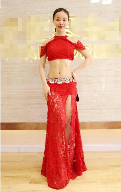 Bellydance oriental Belly Indian eastern baladi saidi swinging dance dancing clothes costumes bra belt robe dress skirt 3315