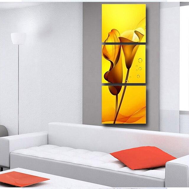 3 Stuks Schilderen Muur Opknoping Canvas Foto Verf Moderne woonkamer ...