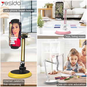 Image 5 - Yesido C33 Universal Lazy Tablet Phone Stand Holder Flexible Desk Bed Mobile Phone Mount Holder For iPhone Samsung iPad Stand