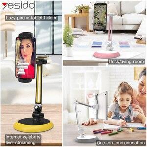 Image 5 - Yesido C33 supporto universale per telefono cellulare pigro supporto da tavolo flessibile supporto per telefono cellulare supporto per iPhone supporto per iPad Samsung