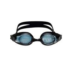Взрослые плавательные очки для близорукости, Силиконовые противотуманные очки с УФ-защитой, плавательные очки с покрытием