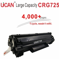 4000 pages Large Capacity Refillable Toner Cartridge CRG 725 CRG725 for Canon LBP 6000 6018 6020 6030 6040 MF3010 printer