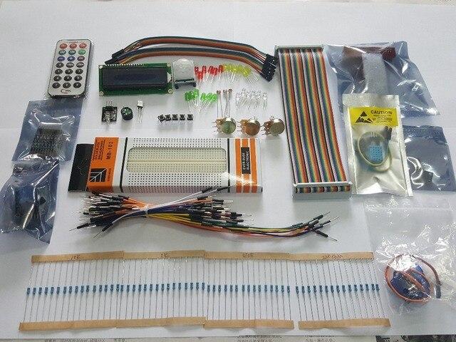 RARE Raspberry Pi 3 Starter Kit Ultimate Learning Suite 1602 LCD SG90 Servo LED Relay Resistors