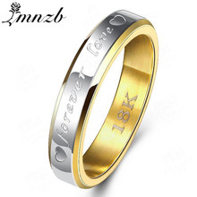 LMNZB Full Size5-12 100% Fully Pure Silver/Gold Color Finger Ring Women Fashion Engagement Wedding Rings Fine Jewelry LR095(China)